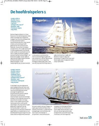Sail 2010. De hoofdrolspelers