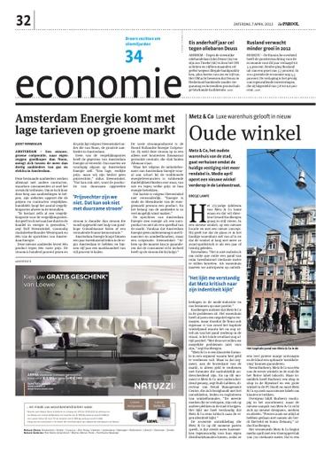 Amsterdam  komt met lagere tarieven