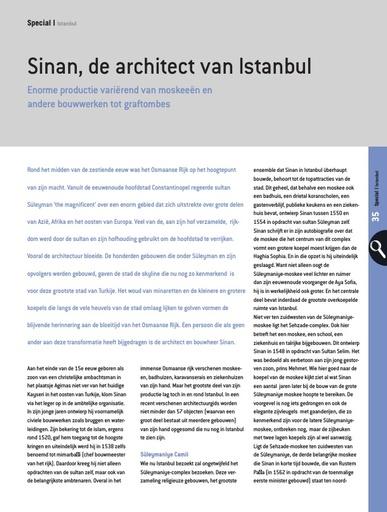 Sinan, de architect van Istanbul