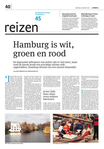 Hamburg is wit, groen en rood