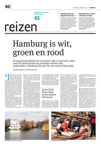 Hamburg is wit, groen en rood