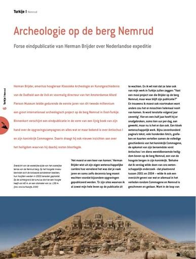 Archeologie op de berg Nemrud