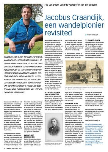 Jacobus Craandijk een wandelpionier revisited