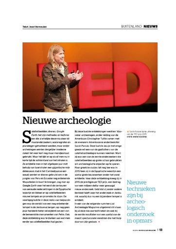 Nieuwe archeologie