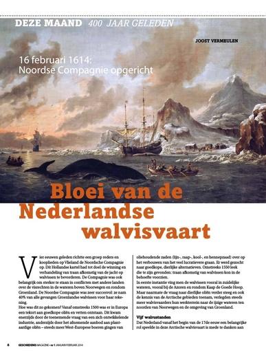 Bloei van de Nederlandse  walvisvaart