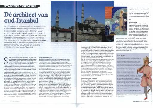 Dé architect van oud-Istanbul