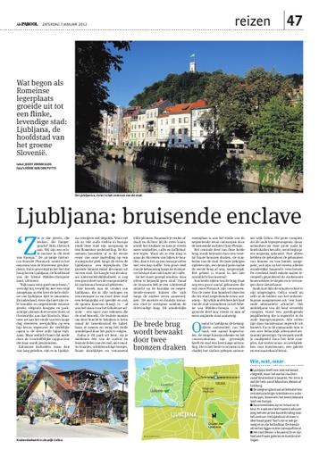 Ljubljana, de hoofdstad van het groene Slovenië