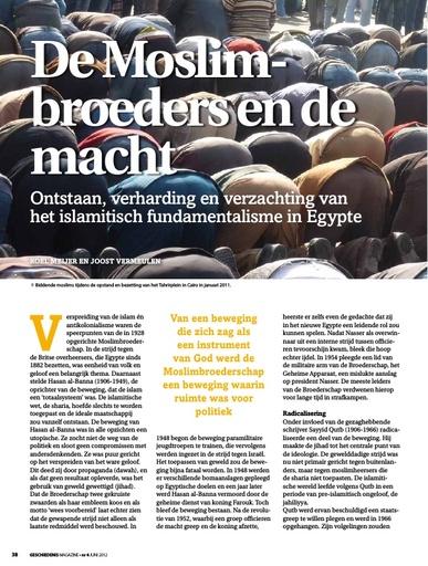 De Moslimbroeders en de macht