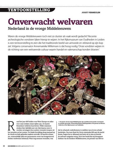Onverwacht welvaren Nederland in de vroege Middeleeuwen