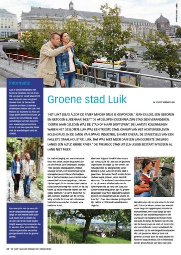 Groene stad Luik