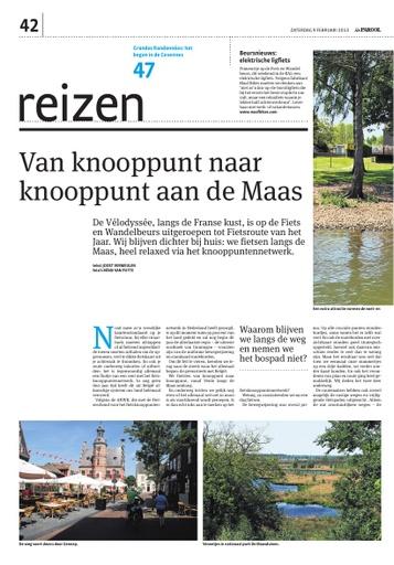 Van knooppunt naar knooppunt aan de Maas