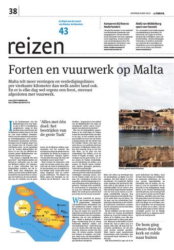 Forten en vuurwerken op Malta