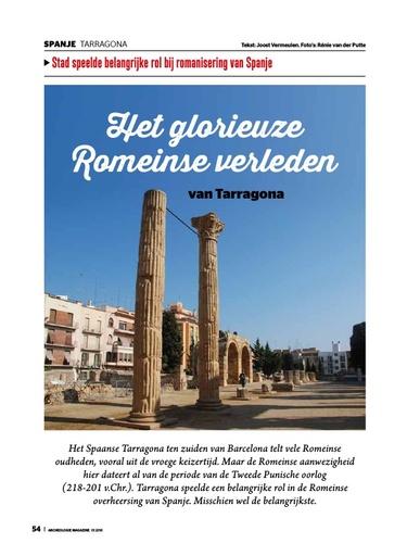 Het glorieuze Romeinse verleden van Tarragona