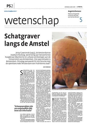 Interview met dr Gawronksi, stadsarcheloog van Amsterdam