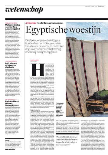 Egyptische woestijn kent nog vele geheimen