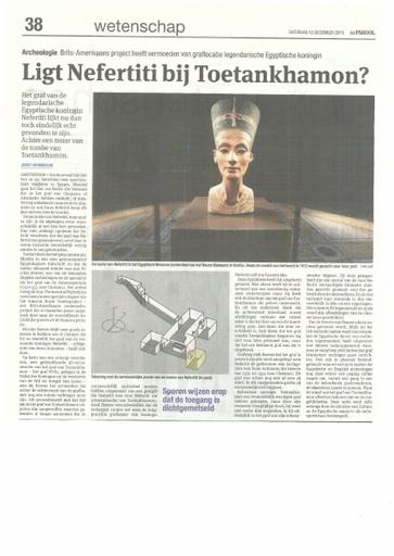 Nefertiti naast Toetankhamon ?