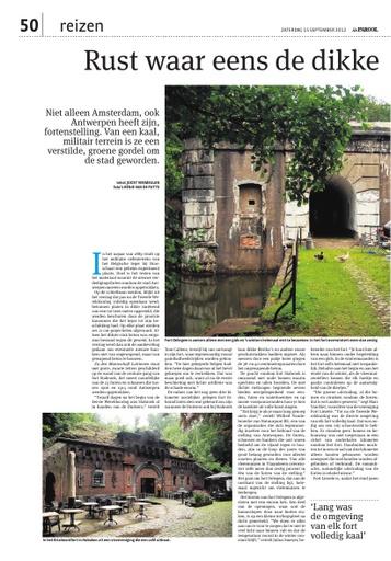 De forten van Antwerpen