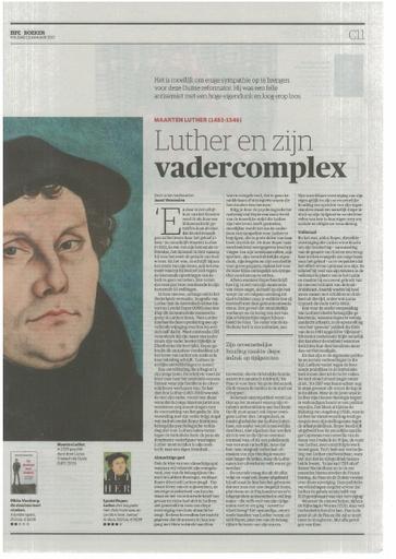 Luther en zijn vadercomplex