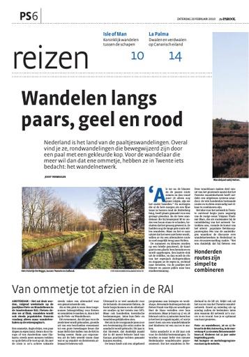 Paaltjeswandelen in Nederland