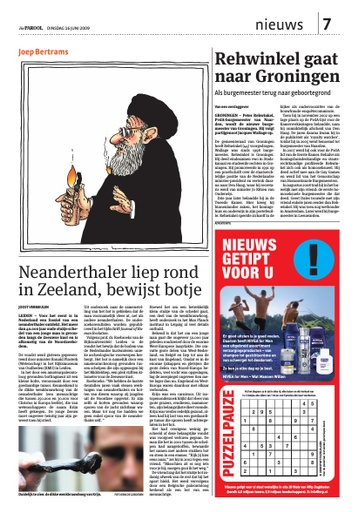 Neanderthaler liep ook in Zeeland