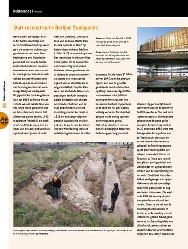 Start reconstructie Berlijns Stadspaleis