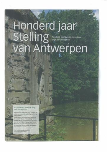 110 jaar stelling Antwerpen