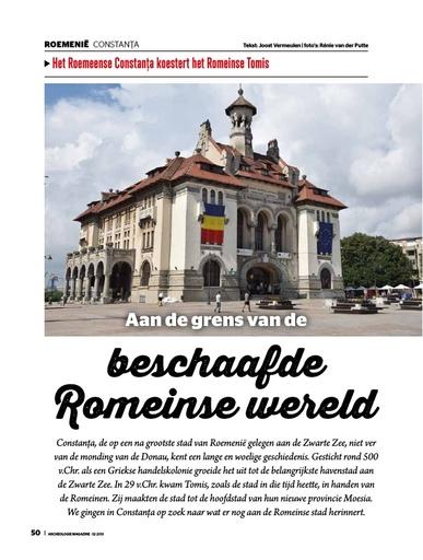 Het Roemeense Constanţa koestert het Romeinse Tomis
